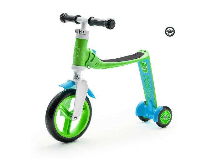 Scoot & Ride Highwaybaby+ zeleno-modrá