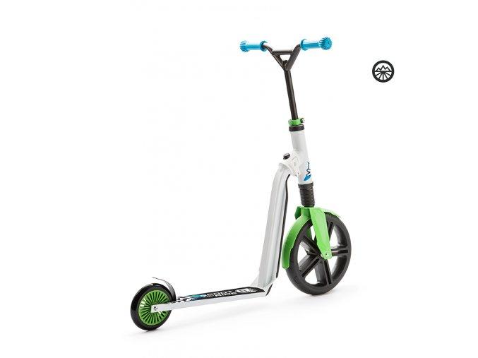 Scoot & Ride Highwaygangster zeleno-modrá