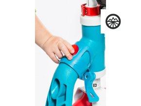 Scoot & Ride Highwaybaby+ modro-červená