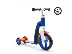 Scoot & Ride Highwaybaby+ modro-oranžová