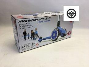 Scoot & Ride Highwaykick 3 modrá