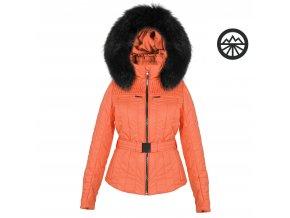 POIVRE BLANC Ski jacket sugar orange